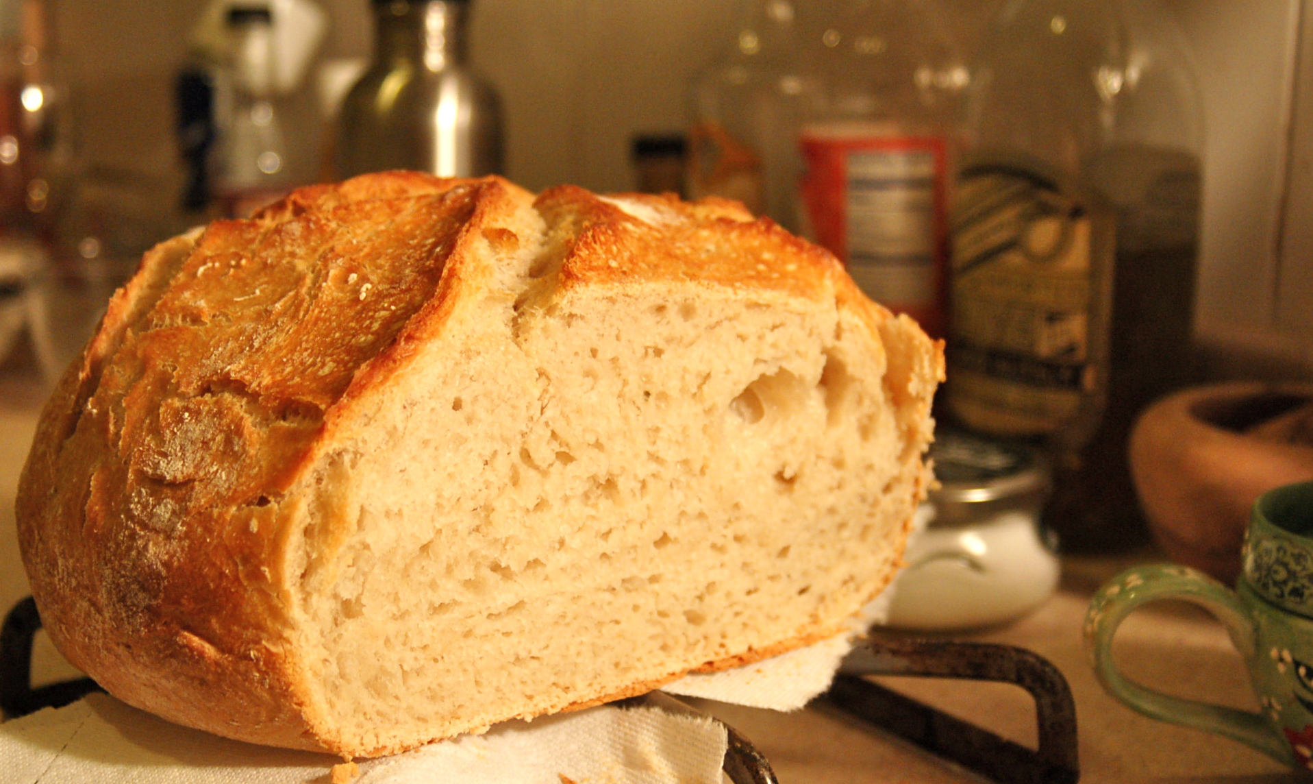 "Save your ""dough"": Easy yeast bread 